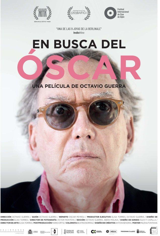 Cartel En busca del Óscar